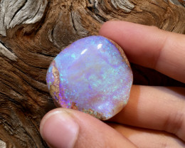 55.8 cts Solid Boulder Pipe Crystal Opal