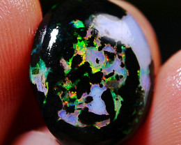 5.55 CT Beautiful Indonesia Wood Fossil Opal Polished
