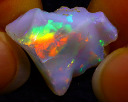 7.45Ct Multi Color Play Ethiopian Welo Opal Rough G1921/R2