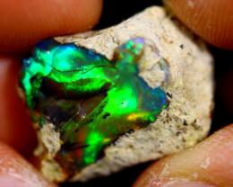 12cts Ethiopian Welo Rough Opal / WR1837