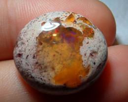 18.69ct Mexican Matrix Cantera Multicoloured Fire Opal