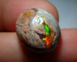 15.54ct Mexican Matrix Cantera Multicoloured Fire Opal