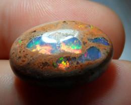 14.24ct Mexican Matrix Cantera Multicoloured Fire Opal