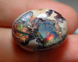 37.72ct Mexican Matrix Cantera Multicoloured Fire Opal