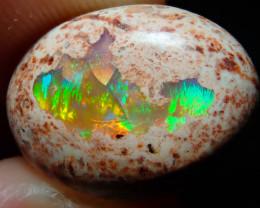 7.62ct Mexican Matrix Cantera Multicoloured Fire Opal