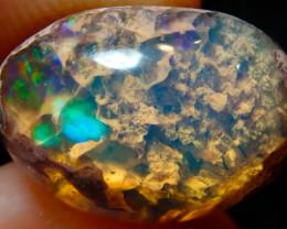 5.02ct Mexican Matrix Cantera Multicoloured Fire Opal