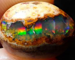 6.71ct Mexican Matrix Cantera Multicoloured Fire Opal