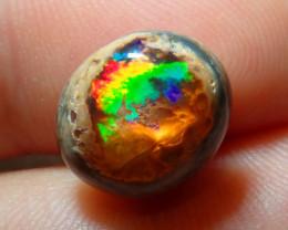 5.56ct Mexican Matrix Cantera Multicoloured Fire Opal