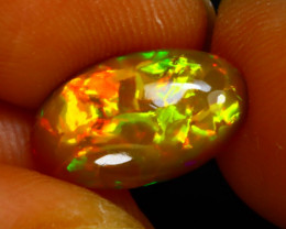 Welo Opal 1.74Ct Natural Ethiopian Play of Color Opal F2016/A44
