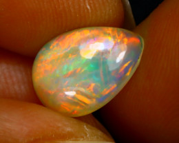 Welo Opal 1.79Ct Natural Ethiopian Play of Color Opal F2018/A44