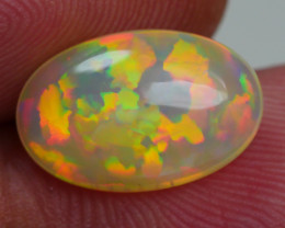 2.775 CRT AMAZING PRISM CHAFF PUZZLE PATTERN FIRE WELO OPAL