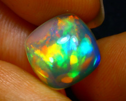 Welo Opal 3.13Ct Natural Ethiopian Play of Color Opal JN15