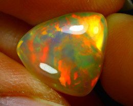 Welo Opal 3.86Ct Natural Ethiopian Play of Color Opal JN18