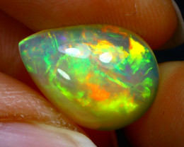 Welo Opal 3.78Ct Natural Ethiopian Play of Color Opal JN21