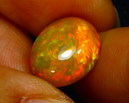Welo Opal 4.33Ct Natural Ethiopian Play of Color Opal JN26