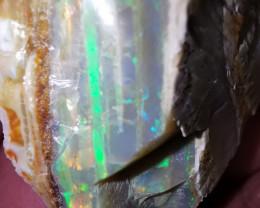 Beatifull brazilian white opal cut freeform