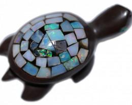 111.55 Cts Cute Australian Turtle  BU 2468