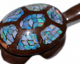 Amazing Australian Opal  Turtle BU 2490
