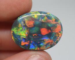17.16CT Black Opal Lightning Ridge DM-B