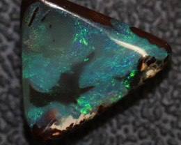5.60 cts AUSTRALIAN BOULDER OPAL SOLID STONE NATURAL CUT