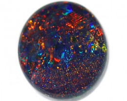 1.30CT BLACK OPAL STONE LIGHTNING RIDGE [CS204]