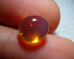 3.21ct Mexican Multicoloured Fire Opal Contraluz