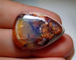 36.52ct Mexican Cantera Multicoloured Fire Opal