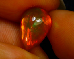 Welo Opal 2.17Ct Natural Ethiopian Play of Color Opal F2201/A44