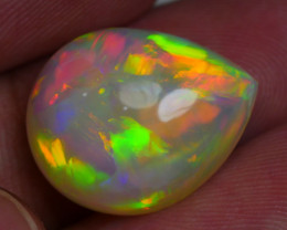 9.650 CRT BEAUTIFUL DROP TEARS PATCHWORK PATTERN WELO OPAL*