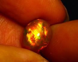 Welo Opal 2.53Ct Natural Ethiopian Play of Color Opal JN46