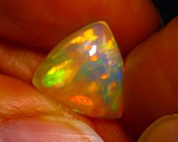 Welo Opal 2.58Ct Natural Ethiopian Play of Color Opal JN47