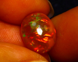 Welo Opal 2.95Ct Natural Ethiopian Play of Color Opal JN50