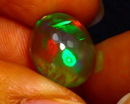 Welo Opal 4.58Ct Natural Ethiopian Play of Color Opal JN51