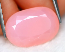 Faceted Pink Opal