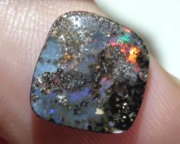 3.70 ct Multi Color Natural Queensland Boulder Opal