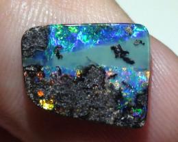 2.65 ct Gem Multi Color Natural Queensland Boulder Opal