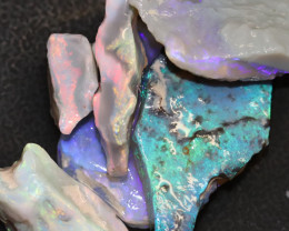51.97cts Australian Opal Rough Lightning Ridge  Parcel