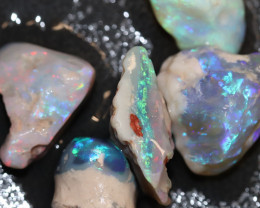 58cts Australian Opal Rough Lightning Ridge  Parcel