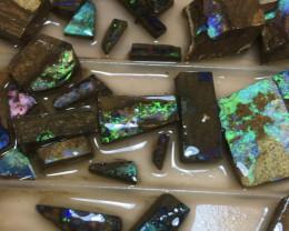 No.2 Boulder Opal Rough Parcel 585 grams