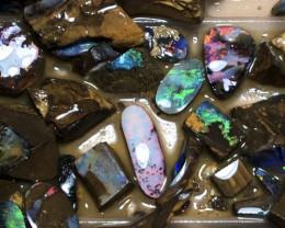 No.3a Bargain Boulder Opal Rough Parcel 680grams