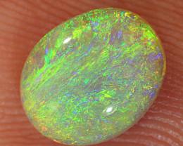 1ct 8x6.5mm Solid Lightning Ridge Crystal Opal [LO-2129]