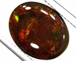 N1 -  5.93CTS QUALITY BLACK OPAL POLISHED STONE  INV-OPM-808