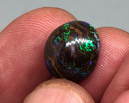 8.5ct Matrix Opal with Green Flashes