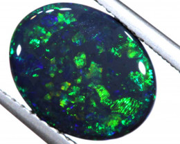 N1 -  2.11CTS QUALITY BLACK OPAL POLISHED STONE  INV-OPM-807