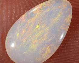 0.75ct 11x6.5mm Solid Lightning Ridge Light Opal [LO-2140]
