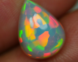 2.595 CRT GORGEOUS HOENYCOMB CHAFF PUZZLE PATTERN COLOR WELO OPAL