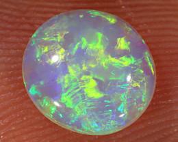 0.8ct 7.5x7mm Solid Lightning Ridge Crystal Opal [LO-2143]