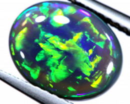 N2 -  2.79 CTS QUALITY BLACK OPAL CHINESE WRITING  INV-OPM-246
