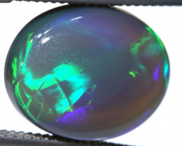 N3 -  8.5CTS QUALITY BLACK OPAL POLISHED STONE  INV-OPM-801