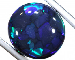 N1 -  10.04CTS QUALITY BLACK OPAL POLISHED STONE  INV-OPM-846